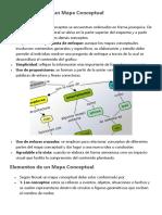 Características de Un Mapa Conceptual