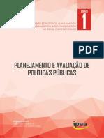 CARDOSO, CUNHA. Planejamento e Avaliação de Políticas Públicas