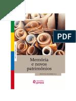 Memória e novos patrimônios.pdf