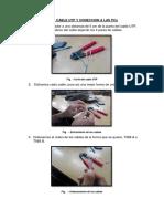Preparacion Del Cable Utp y Coneccion a Las Pcs