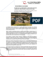 NP54-2017 | Contraloría recomienda abrir proceso administrativo a funcionarios de Cusco por no proteger patrimonio cultural durante construcción de hotel