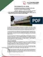 NP59-2017 | Contraloría ratifica inhabilitación para laborar en el Estado contra cuatro exfuncionarios del Gobierno Regional del Callao