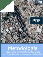 Metodología Para La Identificación de Tugurios 2010