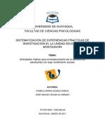 Sistematización Final