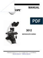 MANUAL-3012 Microscope Series