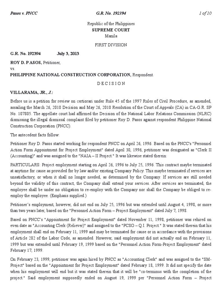 153-Pasos v  Philippine National Construction Corporation