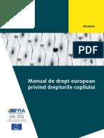 legislatie Handbook European Law Rights of the Child Ro
