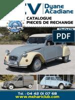 Parts catalogue  2cv