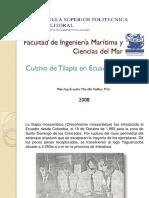Cultivo de Tilapia en El Ecuador