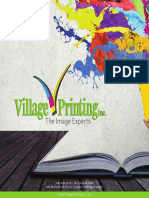 Village Printing Product Catalog
