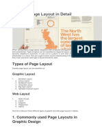 Types of Page Layout in Detail