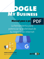 Manual paso a paso para configurar Google My Business