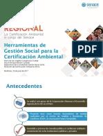 Herramientas de Gestión Social Para Certificacion Ambiental