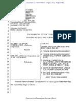 Deckers v. GAP - Complaint