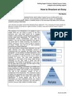 Wss Essay Structure 2014
