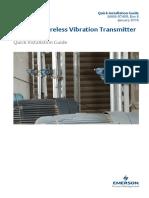 Csi 9420 Wireless Vibration Transmitter Quick Installation Guide Data