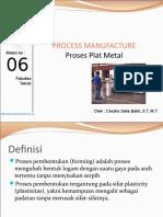 Materi 6 Proses Pelat Logam