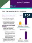 2012 Costs Fact Sheet Version Alzheimers Association