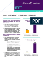 2012 Costs Fact Sheet Version Alzheimers Association