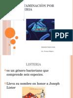 Contaminaciòn Por Listeria