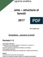 Programa Analitica Ecosisteme