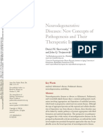 Neurodegenerative Diseases New Concepts Of