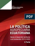 La Política Agropecuaria Al 2025 II Parte (1)
