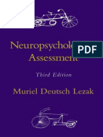Lezak (1995) - Neuropsychological Assessment