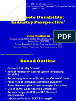 [SLIDES] Concrete durability - an Industry Perspective - vijaykulkarni.pdf