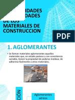 Generalidades y Propiedades de Los Materiales de Construccion