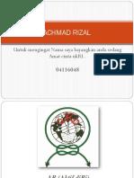Tugas Logo Achmad Rizal 04116048