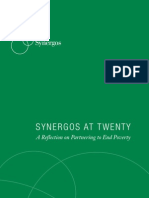 Synergos at Twenty