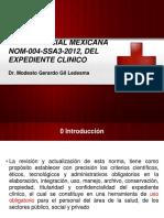Normaoficialmexicananom 004 Ssa3 2012delexpedienteclinico 140313210500 Phpapp01