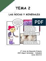 TEMA+2+-+Las+rocas+y+minerales