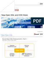 NewOpenSQL and CDS Views.ppt