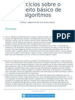 2 Exercícios Conceito de Algoritmos