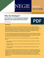 Why Go Strategic?