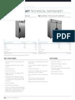 Technical Datasheets for the Garnet Range