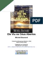 Ele Viu os Céus Abertos - Michell Baunard.doc
