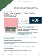 """Revista """"Olhar Do Professor"""" – Caderno Temático Educação Ambiental _ Na Raiz"""
