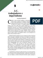 TLC, Trabajadores e Imperialismo