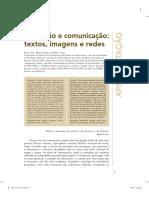 Educação e Comunicação - Textos Imagens e Redes