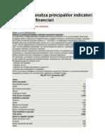 Calculul si analiza principalilor indicatori economico.docx