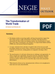 The Transformation of World Trade