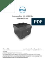 Dell-b2360dn User's Guide Es-mx
