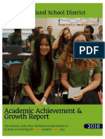 academic achievement report