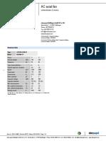 Datos Tecnicos de Ventilador de Enfriador de Armaduras 1 y 2 1992586