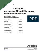 Spectrum Analyzer Measurement Guide