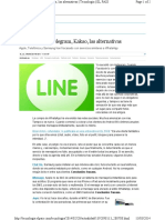 01 Articulo - Line We Chat Telegram Las Alternativas