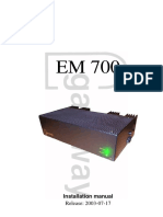EM700 Installation Guide